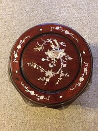 Table Rare RoseWood Mother of Pearl Asian Surrey, V3S 7N4