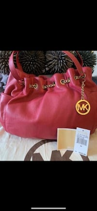 Michael Kors Jet Set Chain Leather Ring Tote - Lacquer Pink  Richmond, V7E 6S2