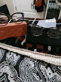 black framed sunglasses with case Newport News, 23609