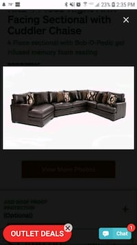 This 4 Piece Right Arm Facing Sectional Aldie, 20105