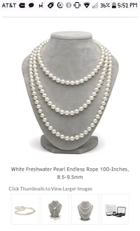 silver-colored beaded necklace Chattanooga, 37421