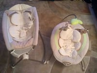 Snug-a-Bunny Bouncer AND Rock-n-Play SET Mount Airy, 21771