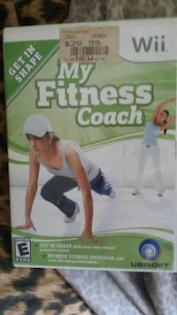 My fitness coach wii game Lake Charles, 70601