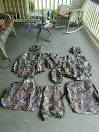 gray and black camouflage jacket Montgomery Village, 20886