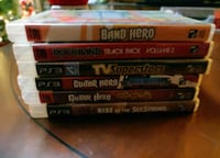 Guitar Hero, Band Hero,Rock Band, games for sale Mississauga, L5P 1B2