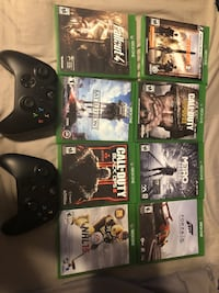 Xbox games & controllers
