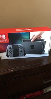 Nintendo switch box with game case