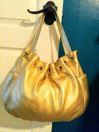 Michael kors leather gold hobo bag purse Port St. Lucie, 34952