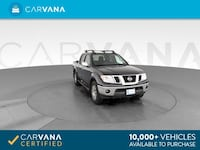 2012 Nissan Frontier Crew Cab pickup SL Pickup 4D 5 ft Gray <br