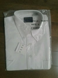 Brand NEW white short sleeve shirt size small Kitchener, N2K 4J7