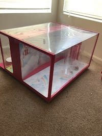 Barbie display case