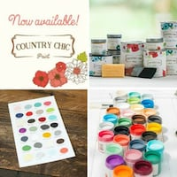 Country Chic All in One Furniture Paint VOC free Pickering