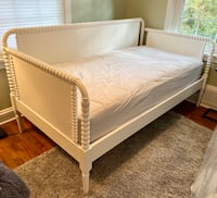 Crate & Barrel - Jenny Lind White Daybed & Mattress - Land of Nod Alexandria, 22301