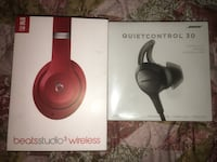 COMBO Bose Control comfort 30 and Red Beats by Dre Studio 3s  Lake Charles, 70605