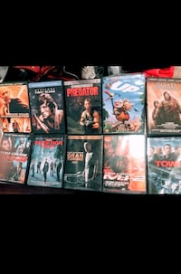 11 DVDs for 20$!!!