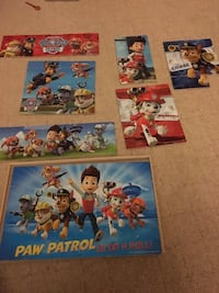 Paw patrol wooden puzzles -1 piece missing Los Angeles, 90024