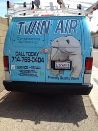 Same day A/C repair, residential/Commercial properties. OC, LA, IE