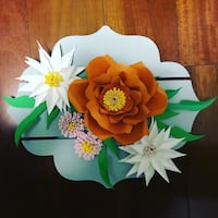 Different Paper Flower Boards.