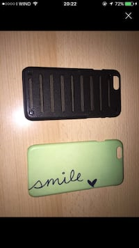 Due cover nero e verde iPhone 6 Cadelbosco di Sotto, 42023