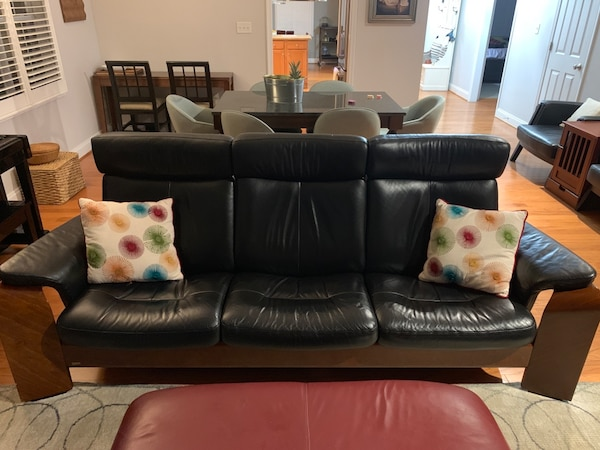 Used Ekornes Stressless Sofa And Love Seat For Sale In