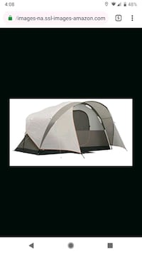 Coleman 6 person tent  Paris