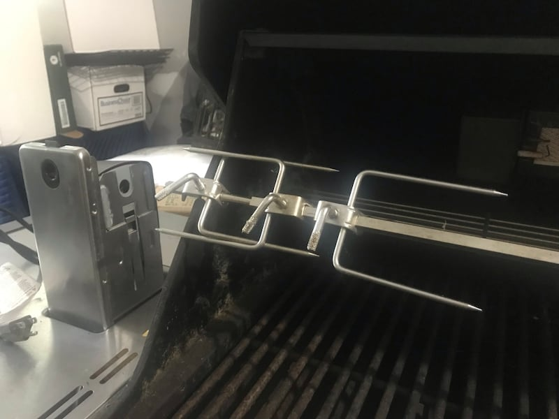 Weber Summit gas grill with rotisserie and side burner. Best Offer e65f5c8e-c86a-4f2e-bc71-771a8caa7c5e