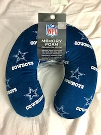 Nfl-dallas cowboys memory foam travel u shaped neck pillow Greenbelt, 20770