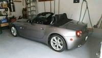 2005 silver BMW Z4 convertible Sportster