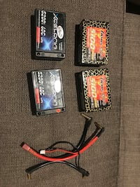 Lipo batteries saddle pack 4wd buggy Richmond Hill, L4B 1L7
