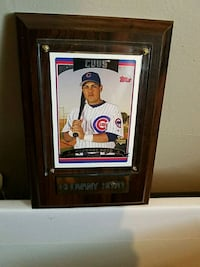 New framed Sports Card Cubs Geovany Soto Bolingbrook, 60440