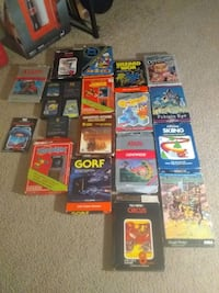 Atari 2600 gamelot and such
