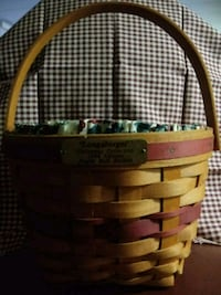 1994 Longaberger Christmas Jingle Bell Basket Newark, 43055