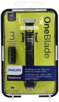 Philips OneBlade Hybrid Electric Trimmer and Shaver, QP2520/21 Toronto