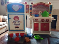 Vintage fridge and stove toy  AURORA