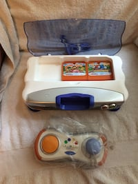 Vtech Vsmile V-motion Kids Game System Educational Video Game