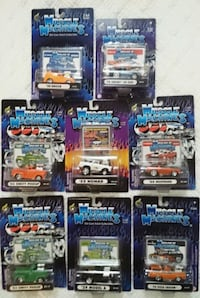MUSCLE MACHINES SET OF 8 CARS MUSTANG SHELBY NOMAD DIECAST Vaughan, L4L 1V3