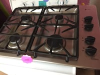 GE Stainless Steel Gas cook top  47 km