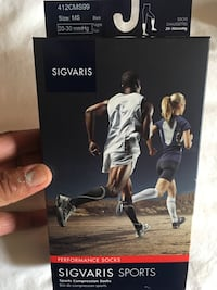 SIGVARIS SPORT PERFORMANCE SOCKS  617 km