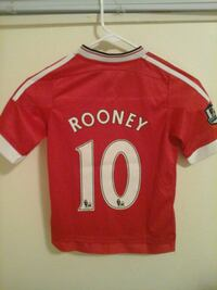 Wayne Rooney Manchester United jersey Silver Spring, 20902