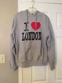 gray and red pull over hoodie Vaughan, L6A 1J2
