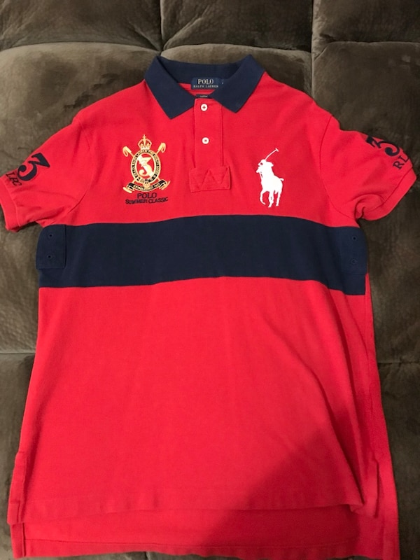 And Toddler's Ralph Shirt Red Lauren Black Polo uOkZXiP