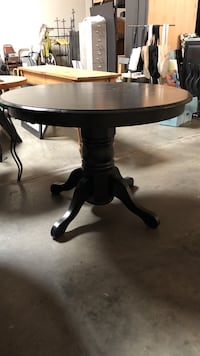 Black tables 4. Can be sold separately. $50 each