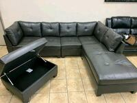 Brand new sectional on sale with free delivery  Brampton, L6R 3L1