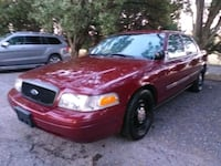 2011 Ford Crown Victoria Police Pursuit w/Street Pkg (Fleet) Burtonsville