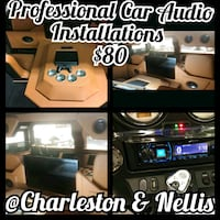 Electrical and wiring car audio installation  Las Vegas