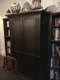Solid wood Pottery Barn Entertainment Armoire New York, 11225
