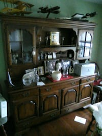 brown wooden cabinet with hutch Waynesboro, 17268