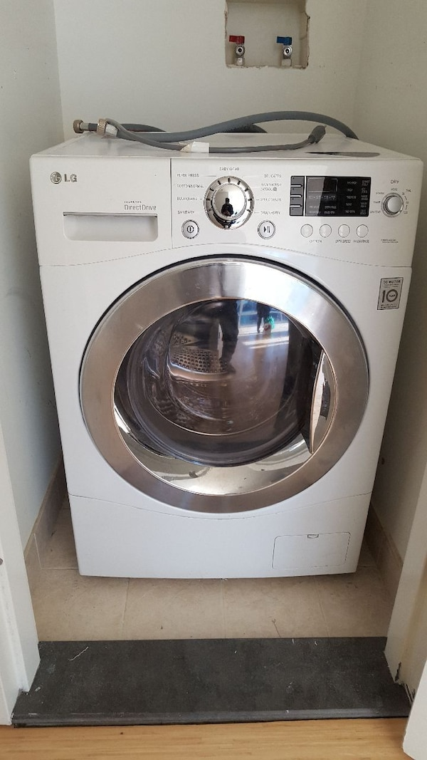 LG washer/ventless dryer combo unit