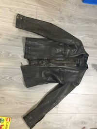 Dark brown leather jacket a small Toronto, M5J 2X5