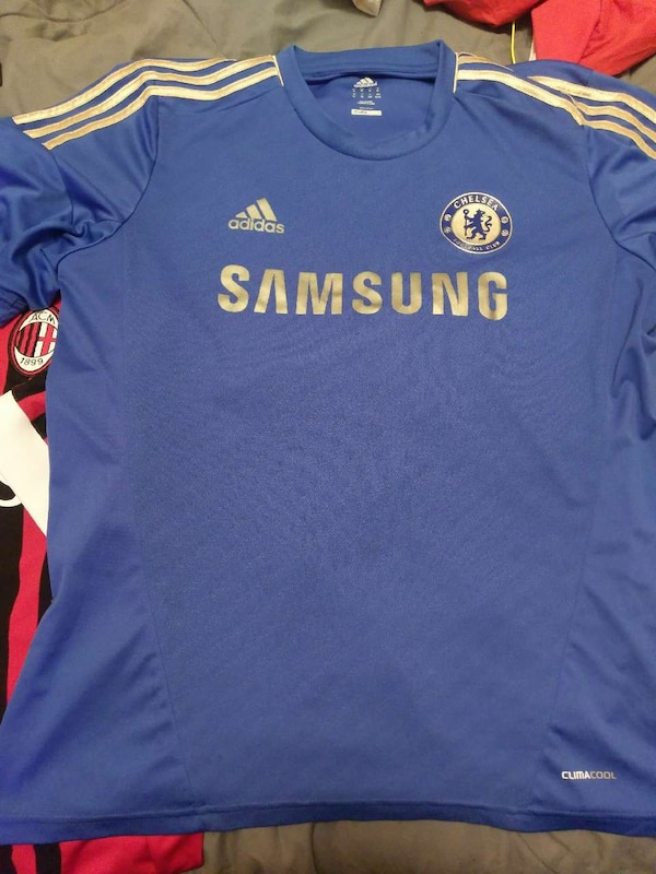 c39285c5071 Used blue Adidas Samsung Chelsea jersey for sale in White Plains - letgo